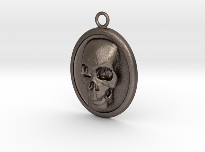Skull Necklace 3d printed