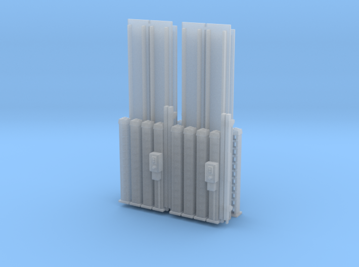 4 Post Car Lift (X 4 kits) 3d printed