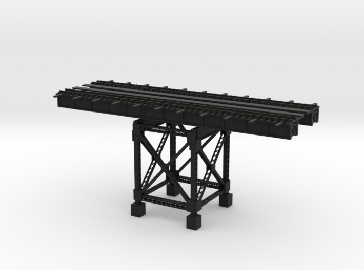 PRR HIGHLINE 12 SECTION with ONE SUPPORT 3d printed