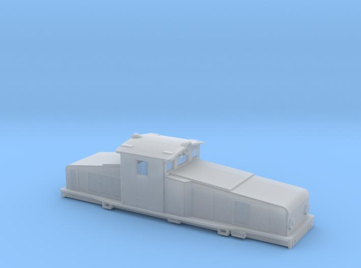 Swedish SJ electric locomotive type Hg - N-scale 3d printed