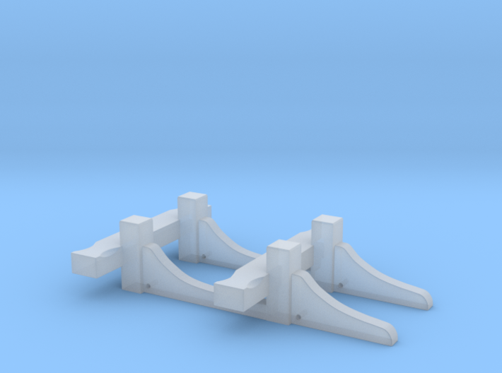 1:72 HMS Victory Riding Bitts 3d printed