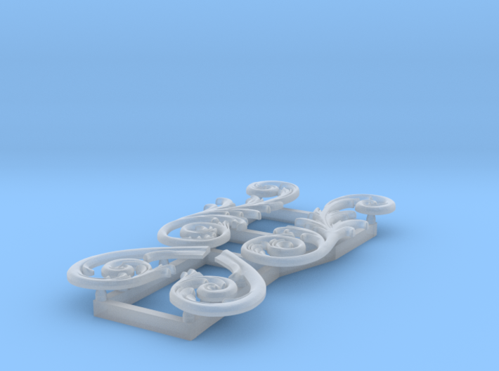 1:96 HMS Victory Stern Ornaments 3d printed