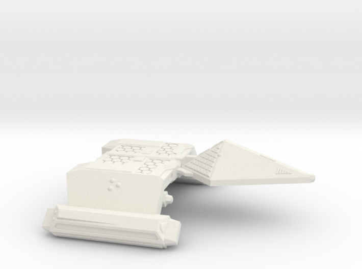 3125 Scale Neo-Tholian Dreadnought SRZ 3d printed