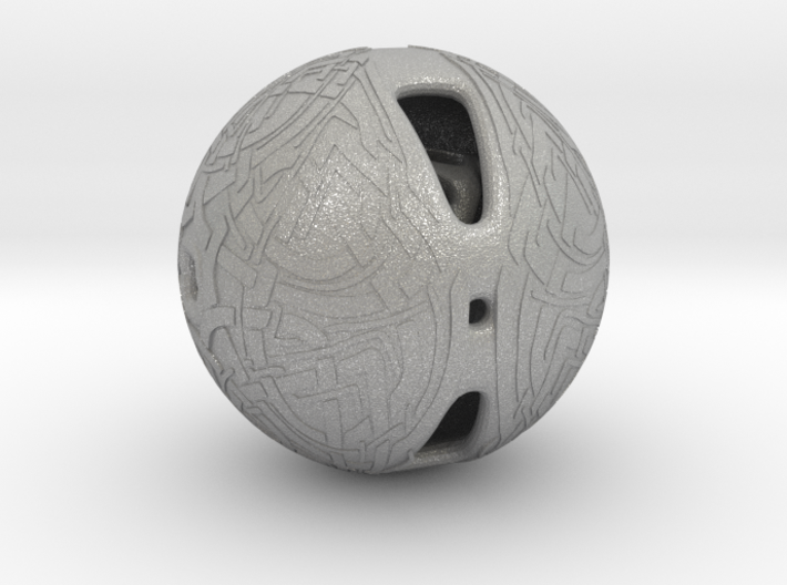 Celtic Knotwork Mythical Sphere 3d printed