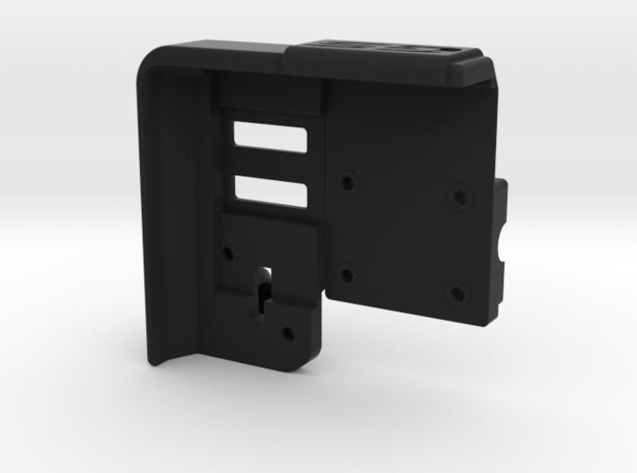 LockableGarmin 595 Base Plate - BMW Compatible 3d printed