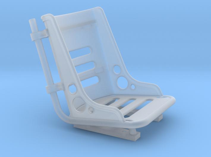 Bomber Seats Miniature 1/24 3d printed