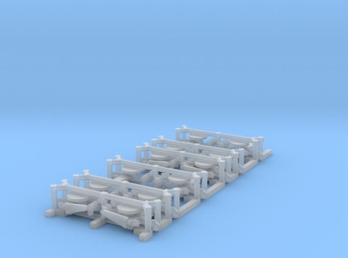 E-2C/D Hawkeye Set, 12 pc, 1/1250 3d printed