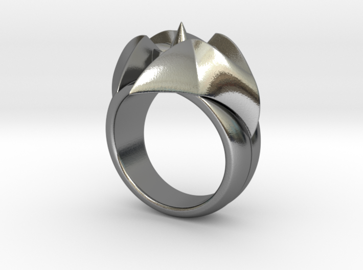 Flower Ring - Size - 9 (18.95 mm) 3d printed