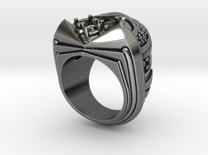 Scarab Ring - Size 12 (21.49 mm) 3d printed