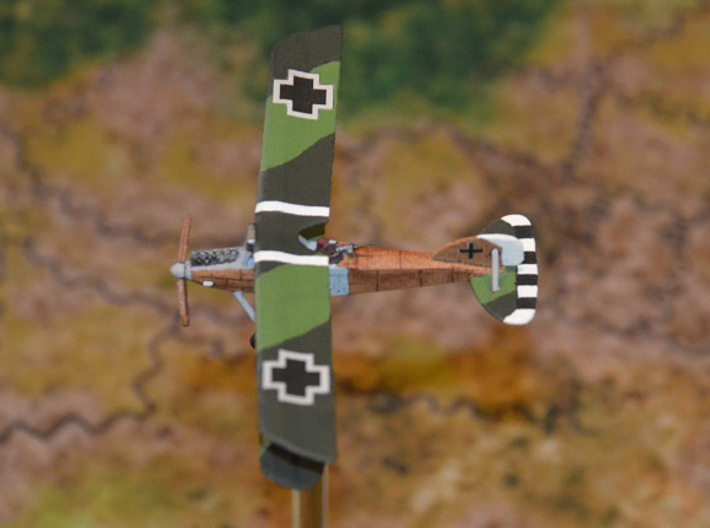 """Albatros J.I 3d printed Paint job and photo courtesy Peter """"Teaticket"""" at wingsofwar.org"""