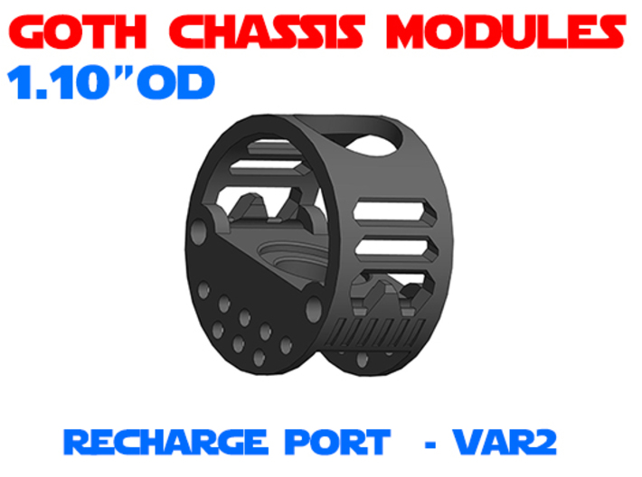 GCM110 - Recharge Port Chassis Var2 3d printed