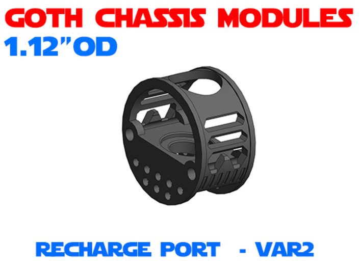GCM112 - Recharge Port Chassis Var2 3d printed