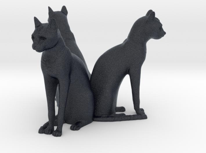 Cat Array (x3) 3d printed