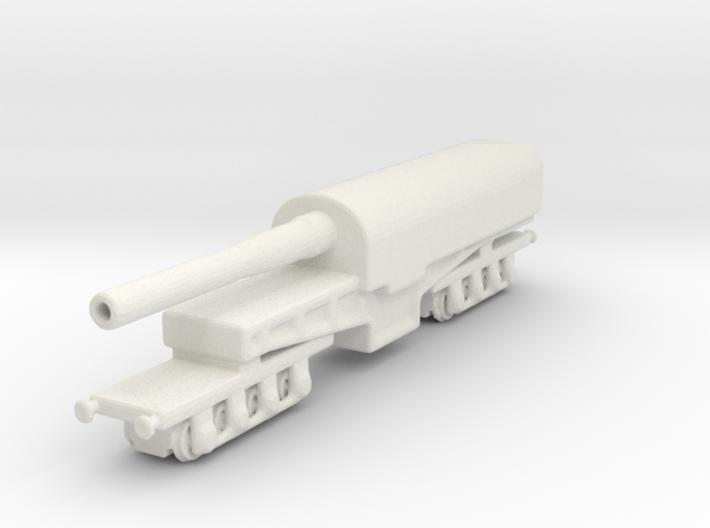 canon de 274 mm mle 1893 1/285 railway artillery 3d printed