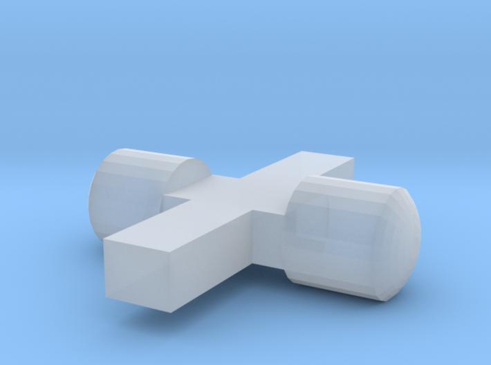 n2 Scheinwerfereinsätze / Lichtnägel 3d printed
