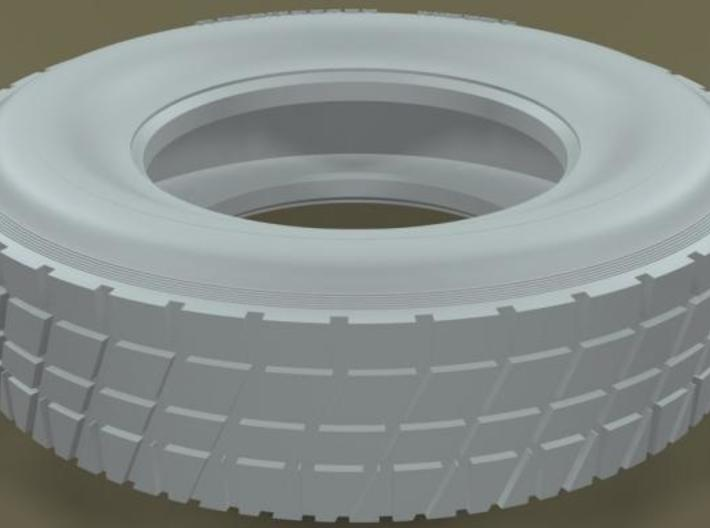 1/16 Racemaster Rear Midget Tire 23 Diam 12 by 5p5 3d printed