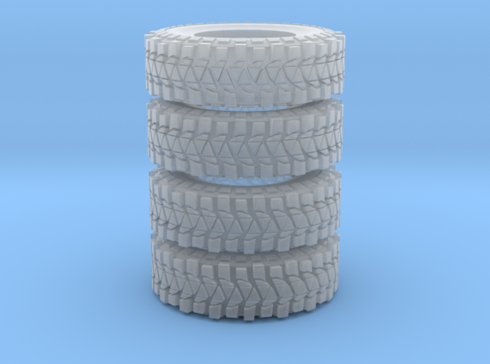 jeep 37 tires 3d printed
