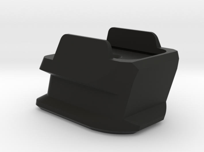 SIG P320 Extended X Frame Base Pad - Round 3d printed