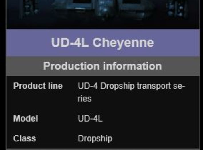 UD-4LW Dropship 160 scale 3d printed size check