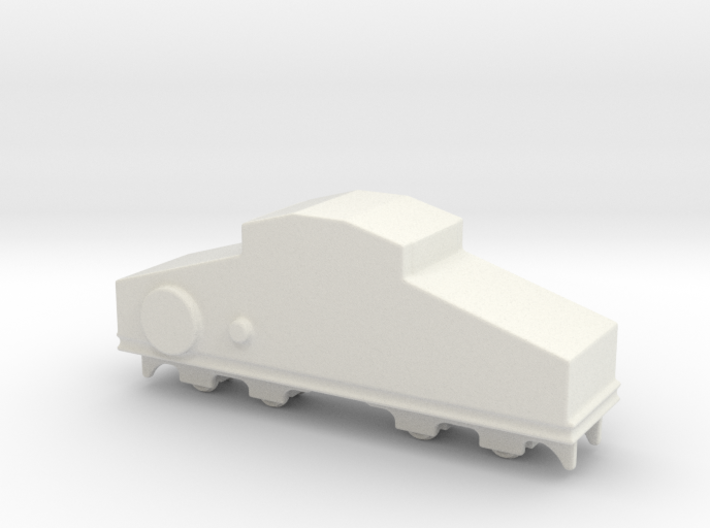 locomotive Locotracteur Crochat 1/144 3d printed