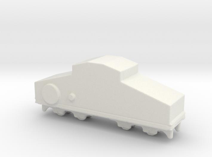 locomotive Locotracteur Crochat 1/285 3d printed