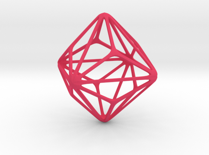 Triakis Octahedron 3d printed