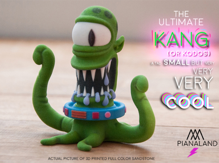 the ultimate KODOS (or KANG) 3d printed picture of 3d printed Full Color SandStone