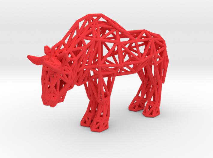 Wildebeest (adult) 3d printed