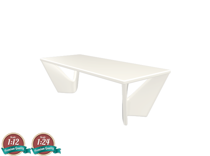 Miniature Suspens Dining Table - Roche Bobois 3d printed Miniature Suspens Dining Table - Roche Bobois