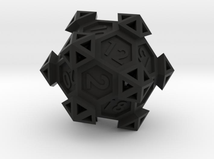 Ancient Construct D20 3d printed
