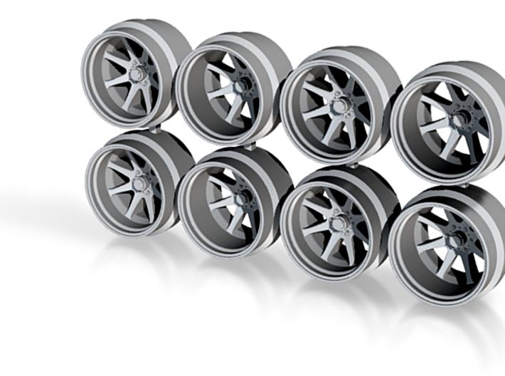 FF09 11mm Offroad Truck SUV Hot Wheels Rims 3d printed