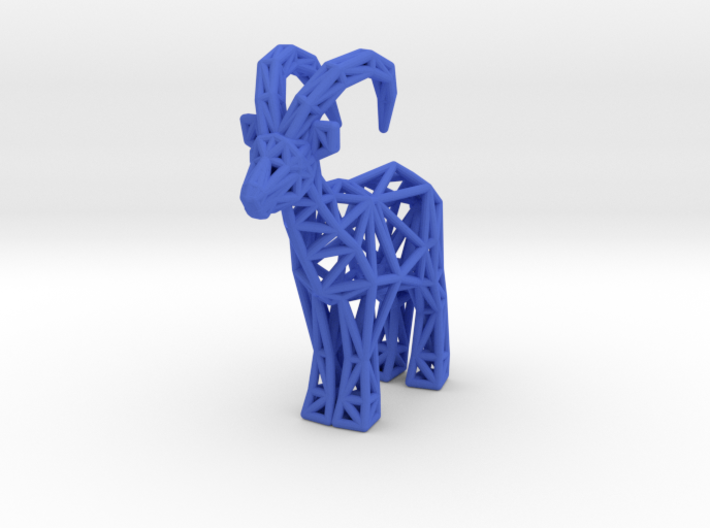 Ibex (adult male) 3d printed