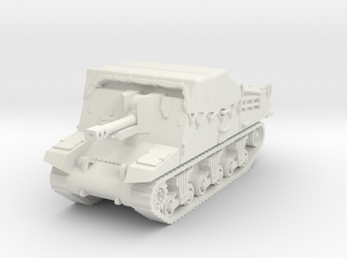Sexton II mid (covered) scale 1/87 3d printed