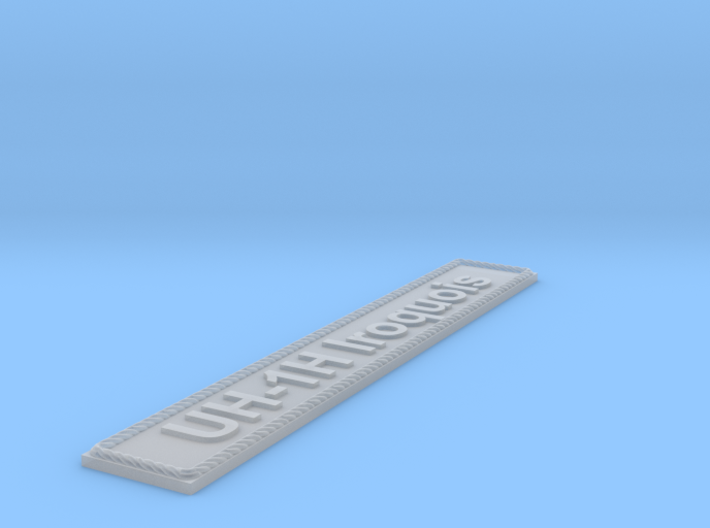 Nameplate UH-1H Iroquois 3d printed