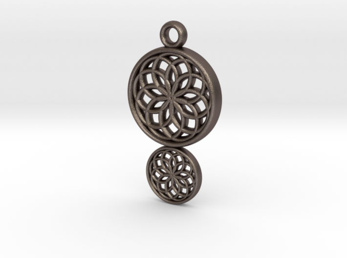 Dreamcatcher Pendant 3d printed
