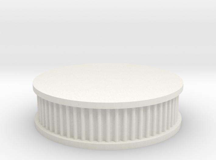 air filter round 1/10 3d printed