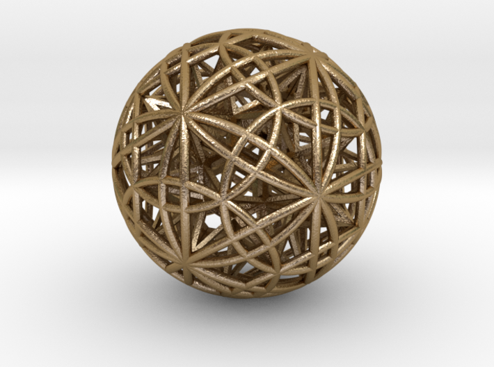 """Sphere of Sacred Union 2.5"""" (No Bale) 3d printed"""