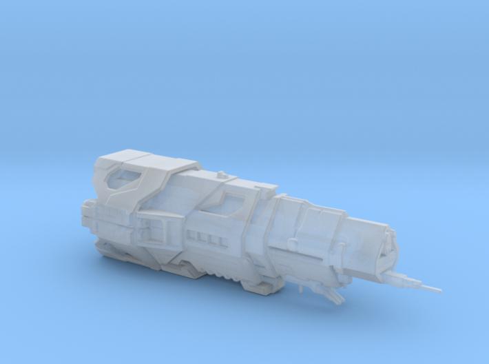 UNSC Halcyon Class Cruiser high detai small V2 3d printed