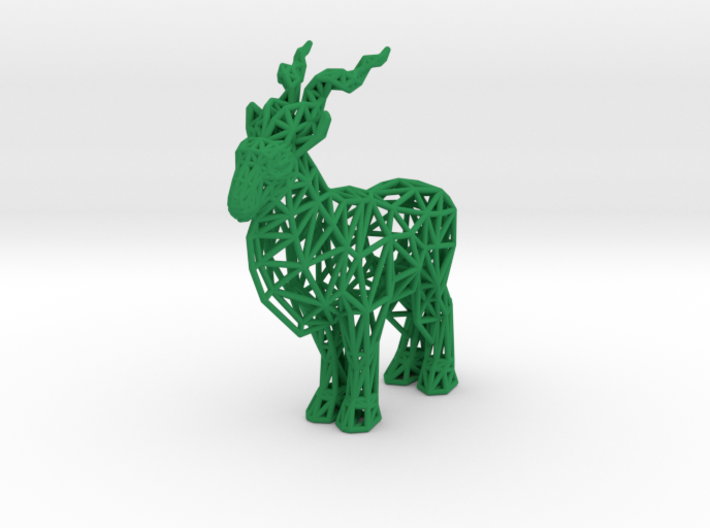 Markhor (adult male) 3d printed