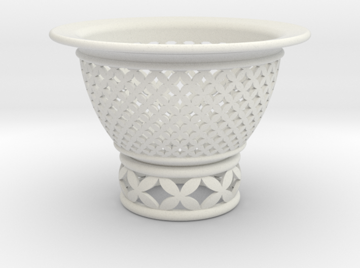 Neo Pot Woven Circles 3.5 in. 3d printed Neo Pot Circles 3.5in.