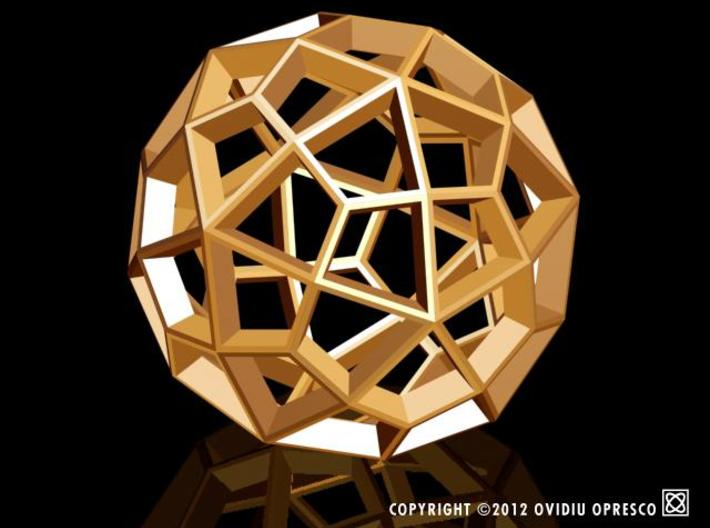 Polyhedral Sculpture #29A 3d printed