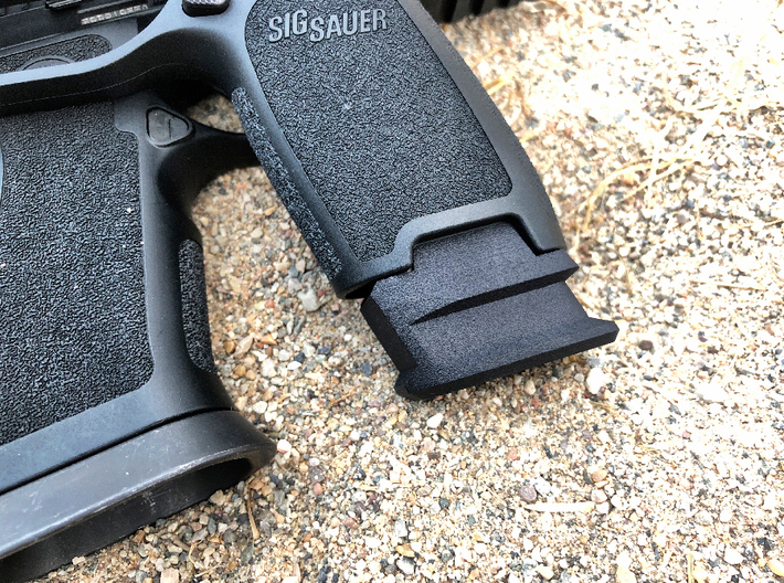 Extended X Frame Base Pad for SIG P320 - Square de