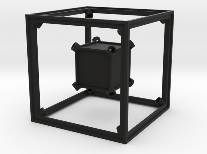 Tritium Tesseract Prototype - HyperCube 3d printed
