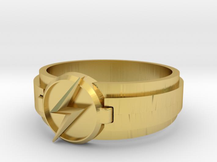 Kid Flash Ring size 10 3d printed