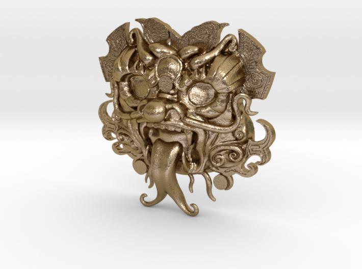Dragon Amulet 3d printed