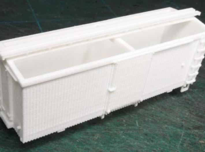 HOn30 22 foot Boxcar 3d printed