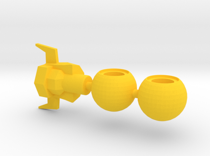 Super Acroyear Yellow Parts 3d printed