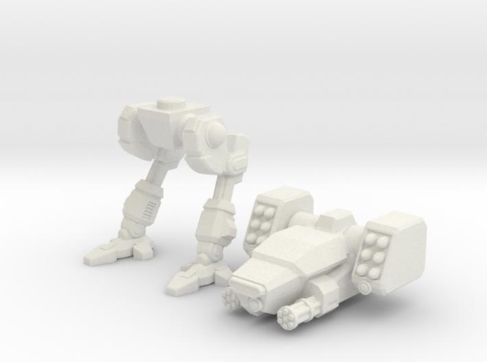 Terran Fast Attack Walker 3d printed