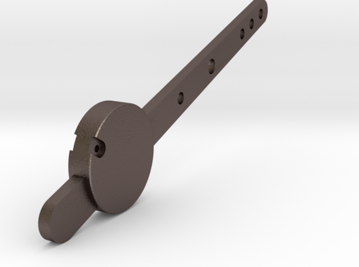 Signal Semaphore Lever with Weight 1:19 scale 3d printed