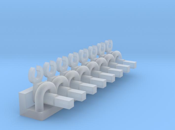 Minitrix 2-10-0 & 4-6-2 Eccentric Rod Pegs N Scale 3d printed